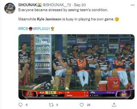 IPL 2021 Kyle Jamieson flirts with RCB massage therapist all you need to know about Navnita Gautam