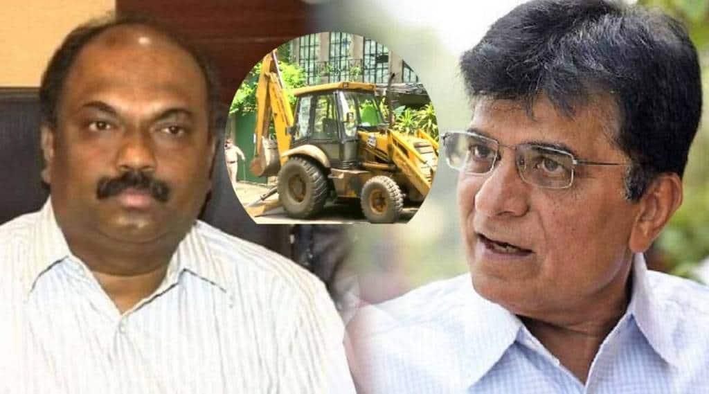 Minister Anil Parab kirit somaiya