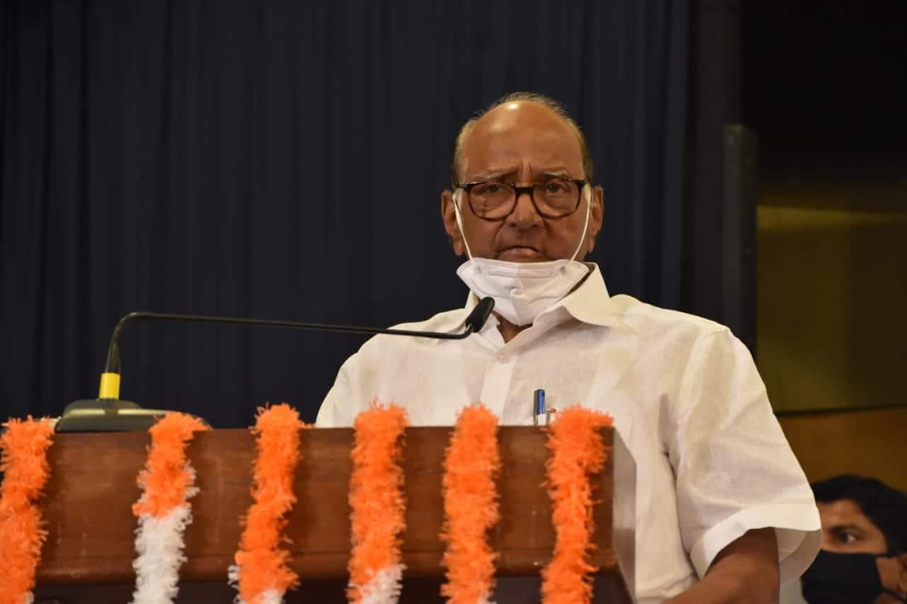 Sharad Pawar Raju Shetti