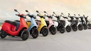 Ola electric scooter sales crossed rs 1100 cr in 2 days