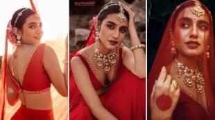 Priya Prakash Varrier Bridal Look