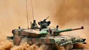 Arjun-Mk1A Battle Tank