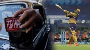 Taxi Driver IPL 2021 KKR Venkatesh Iyer