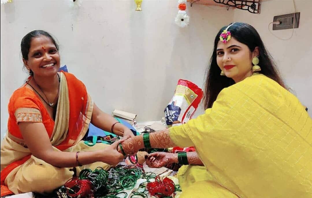 Veena Jagtap Sister Wedding Photos