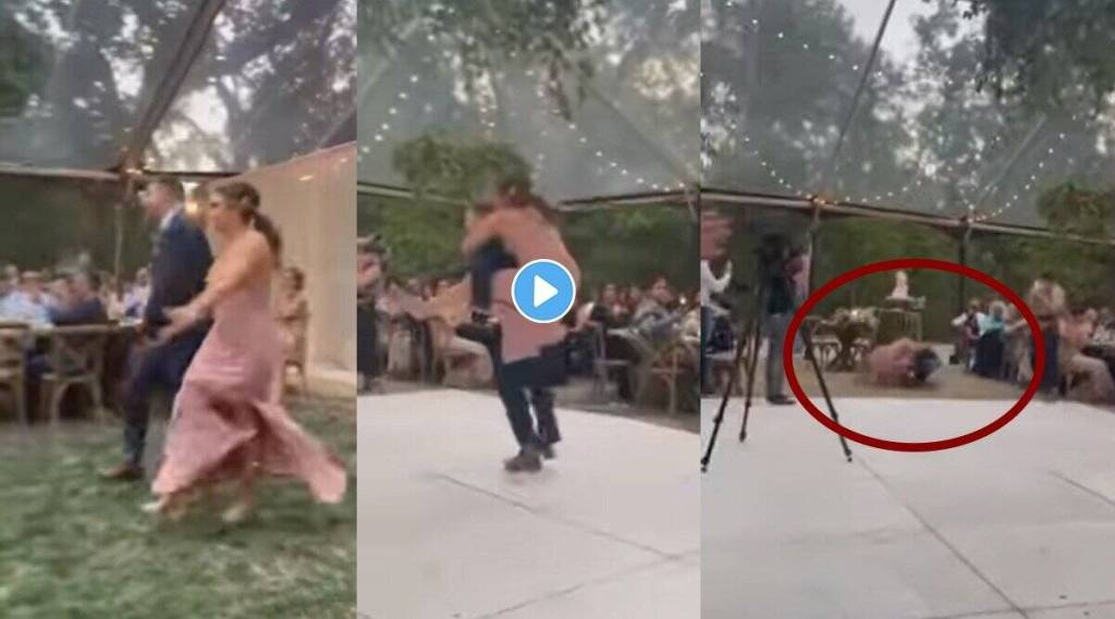 bride-and-groom-both-fall-while-dancing-in-wedding