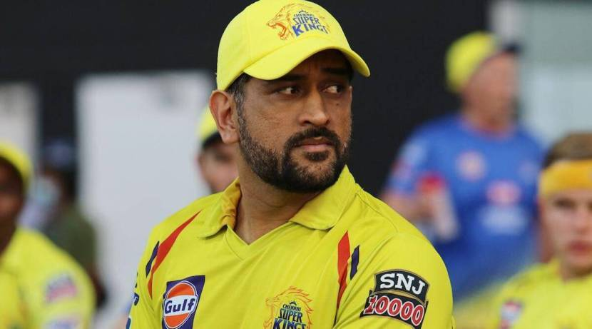 ms Dhoni reaction after winning against KKR