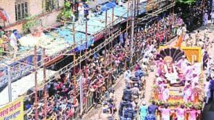 Devotees Ganesha broke rules immersion ceremonies