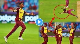 Akeal hosein dismisses liam livingstone with fabulous catch as england thump west Indies