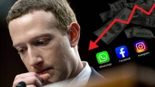 Facebook Outage 600 Cr Dollar loss to Mark Zuckerberg