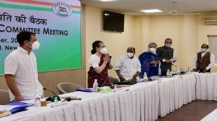 I am a full time and hands on Congress president says Sonia Gandhi at CWC meeting