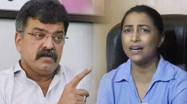 Kranti Redkar should take care and speak Jitendra Awhad suggestive warning