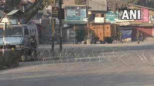 Let terrorist umar mustaq khandey neutralised pampore jammu Kashmir