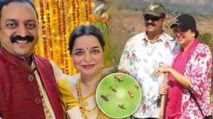 IAS, Manisha Mhaiskar, Milind Mhasikar, Bee Attack, मनिषा म्हैसकर, मिलिंद म्हैसकर