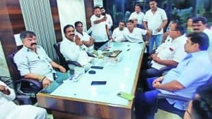 Ulhasnagar 22 corporators of Omi Kalani group join NCP