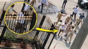 Person Attempted Self-Immolation at Gate of Mantralaya gst 97