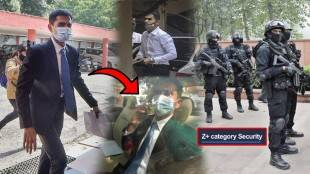 Z plus Security approved for Sameer Wankhede VIP Security