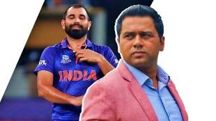 aakash chopra has changed profile picture on twitter to support mohammed shami