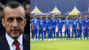 amrullah saleh on afghanistan cricket team national anthum in t20 world cup