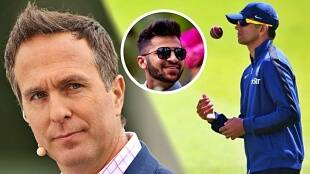 Michael vaughan reacts to news of rahul dravid taking over as team india coach