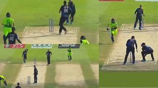 Video three times runout missed single ball t20 world cup 2021 qualifier round match ireland vs Namibia