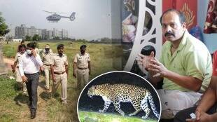 Leopard attacks on man in pune