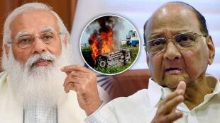 sharad pawar targets modi government on lakhimpur kheri incident