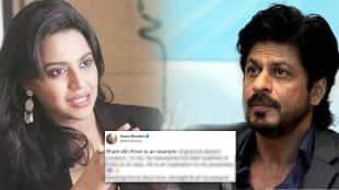 swara bhaskar, swara bhaskar tweet, shahrukh khan, gauri khan,
